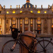 Il giro del centro in bicicletta