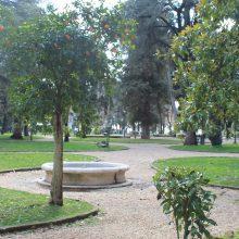 Giardino del Pincio – Giardino Fontana Rotonda