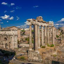 A piedi nella Roma più antica