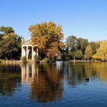 Giardino del Lago di Villa Vecchia (Villa Pamphili)